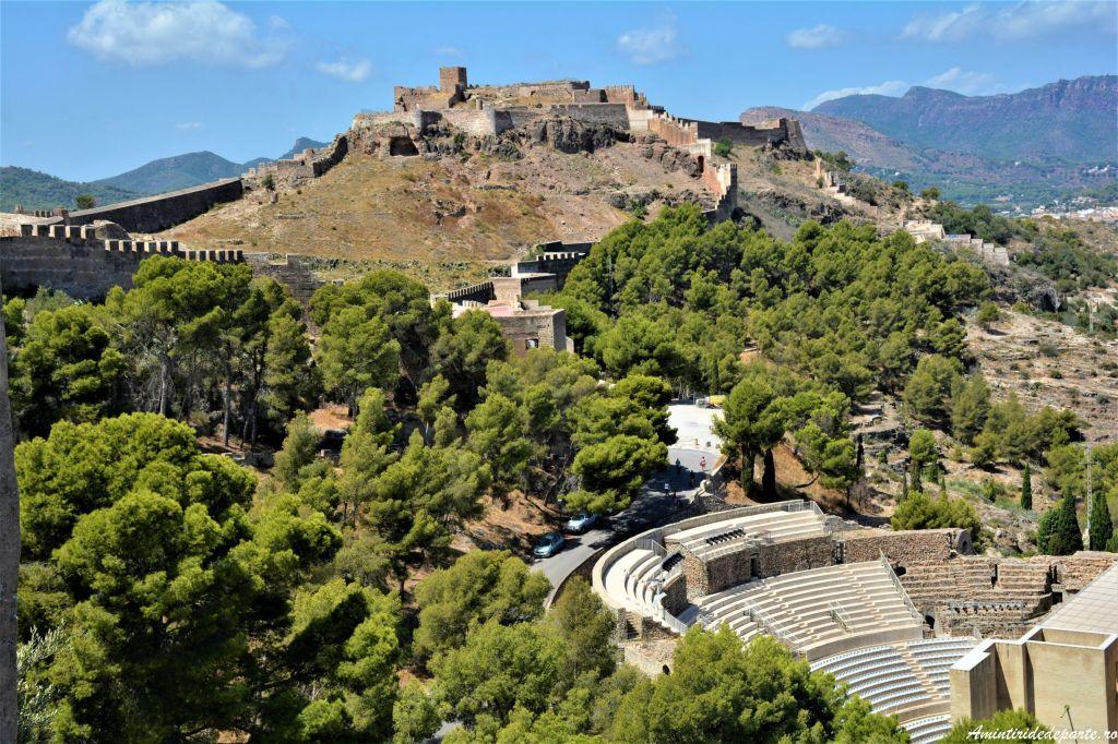 Castelul si Teatrul Roman Sagunto