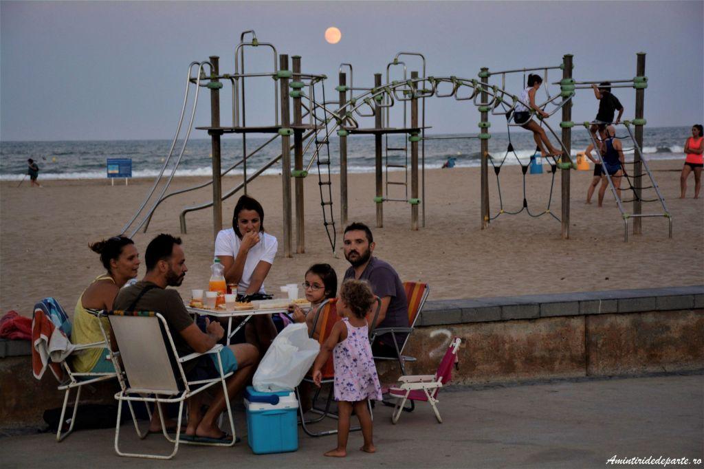 Plaja Patacona din Valencia