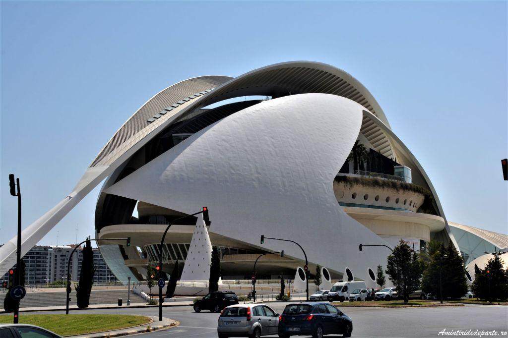 Palau de les Arts Reina Sofia, Valencia