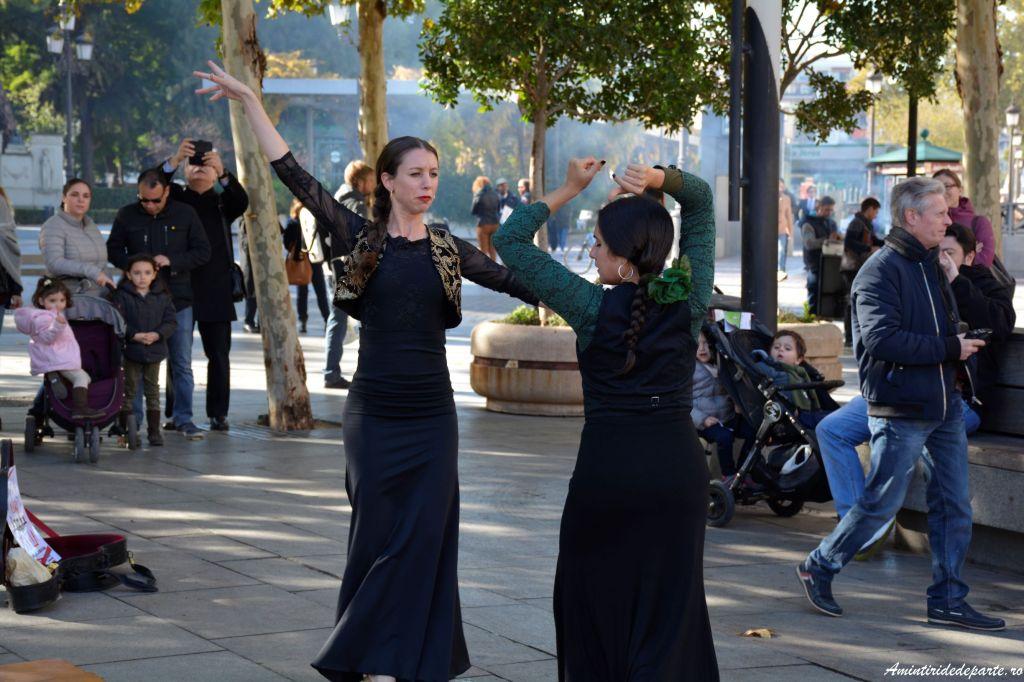 spectacol flamenco, Sevilla