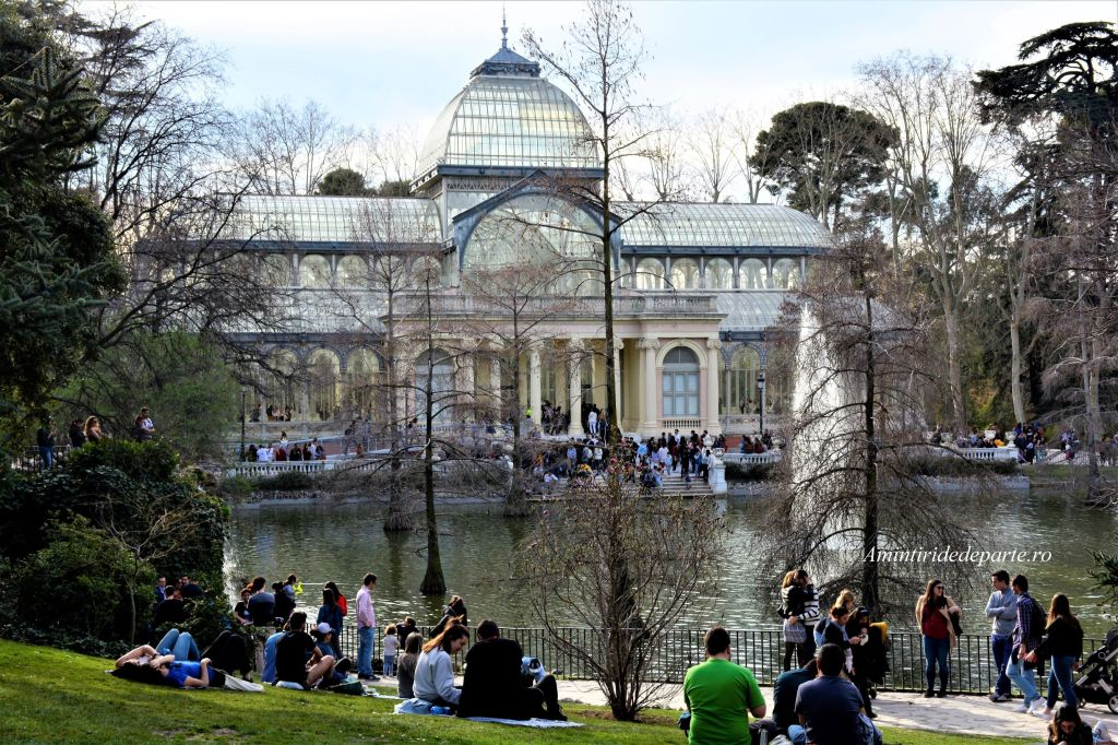 Palatul de Cristal din Parcul Retiro, Madrid