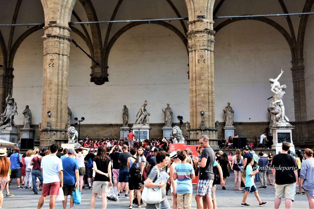 Piazza della Signoria, Florenta