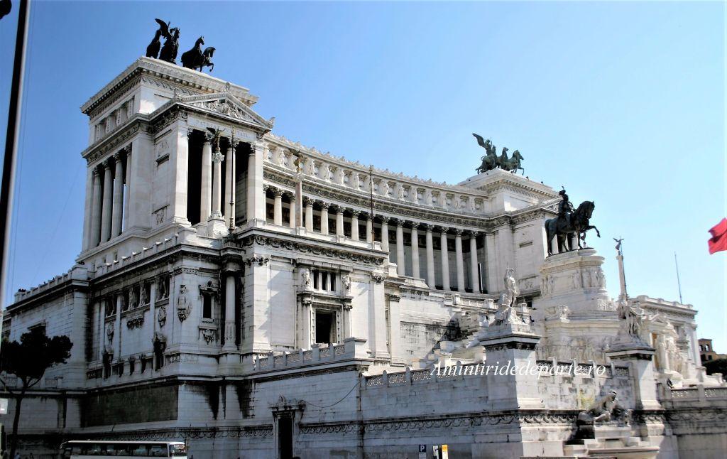 Monumentul lui Vittorio Emanuelle II din Roma