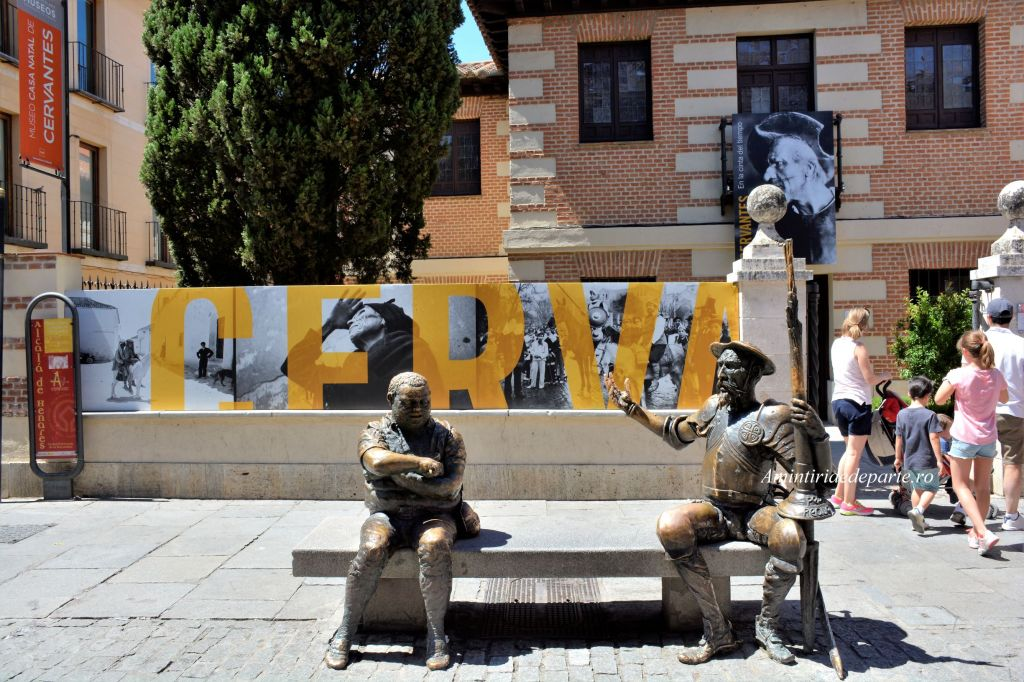 Don Quijote si Sancho Panza, Museo Casa Natal de Cervantes