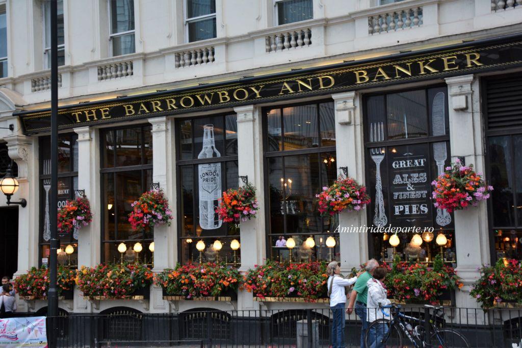 pub din Londra