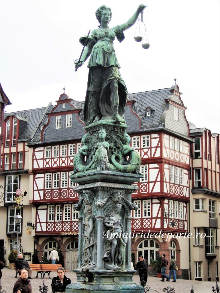Fantana Justitiei, Frankfurt