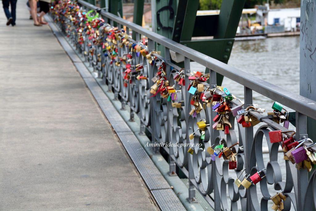Eiserner Steg (Podul de Fier), Frankfurt