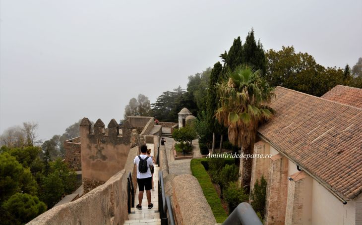 Castelul Gibralfaro, Malaga
