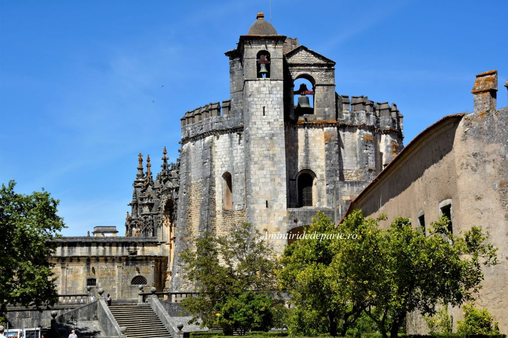 Convento de Cristo si Castillo de Tomar, Portugal