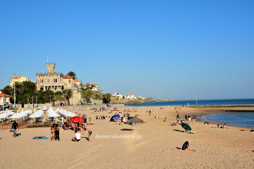 plaja Tamariz din Estoril, Portugalia