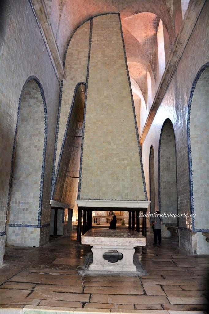Bucataria de la Manastirea Alcobaca din Portugalia