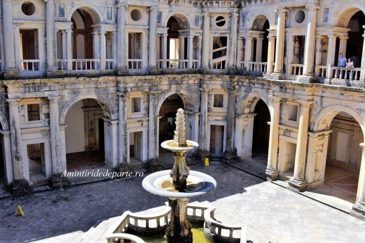 Castelului Cavalerilor Templieri si Manastirea Ordinului lui Hristos din Tomar, Portugalia