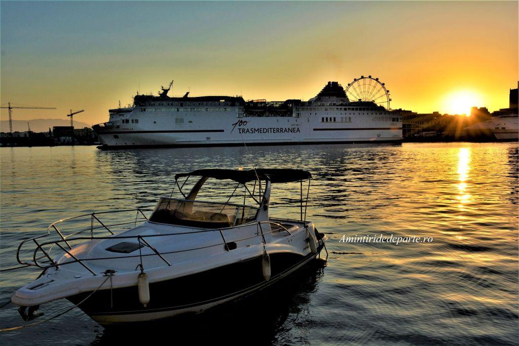 portul din Malaga